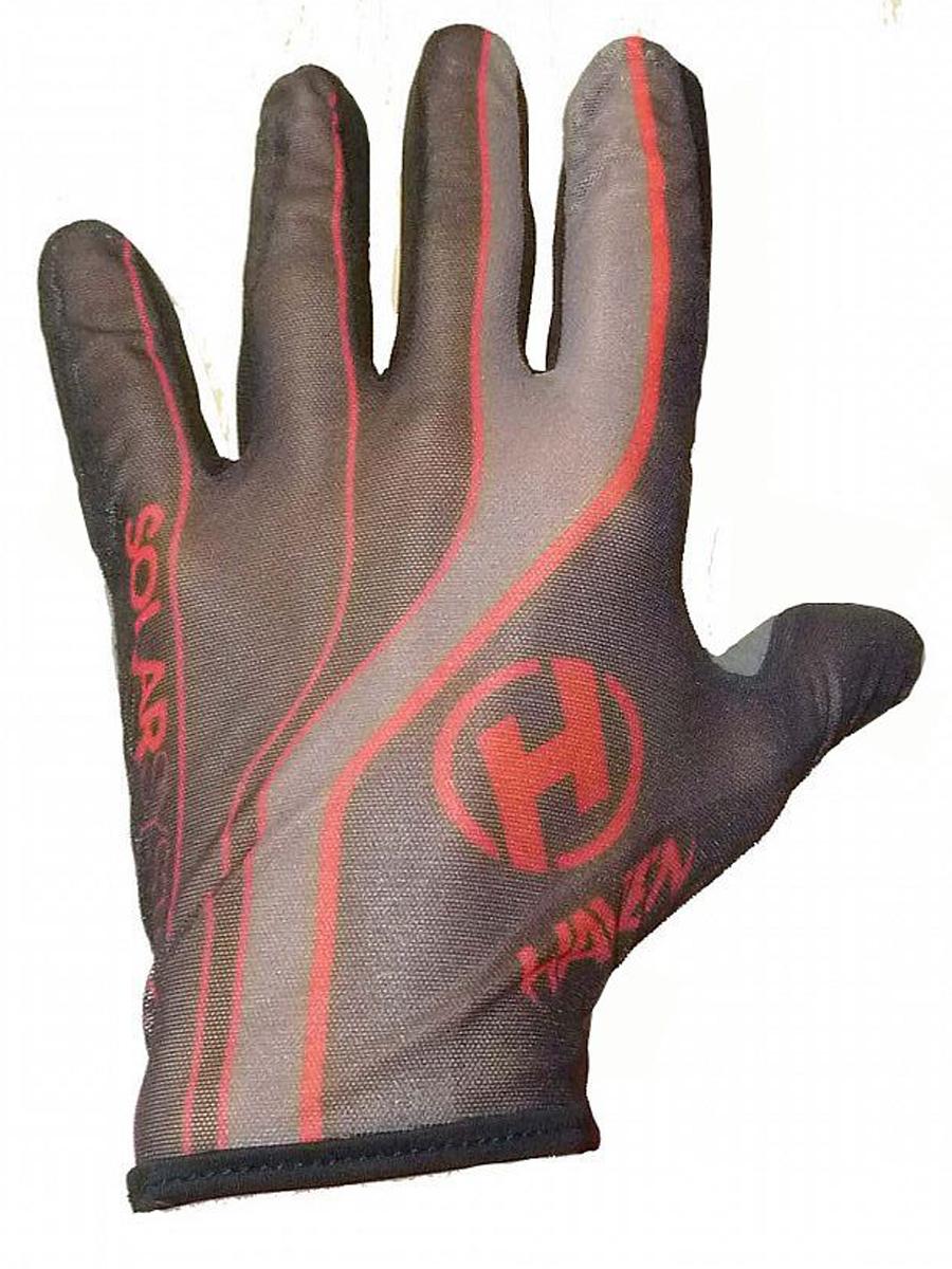 Dlhoprsté rukavice HAVEN SOLAR LONG red