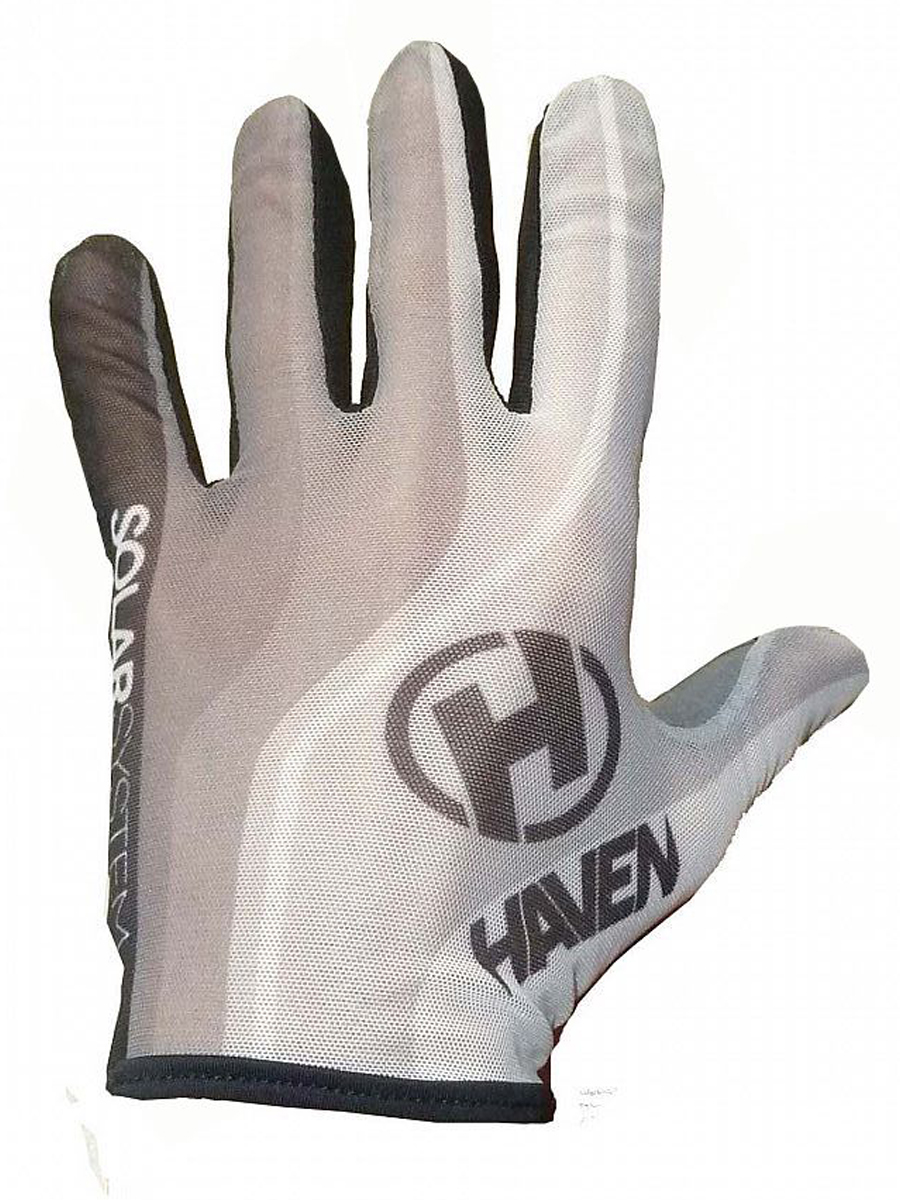 Dlhoprsté rukavice HAVEN SOLAR LONG white
