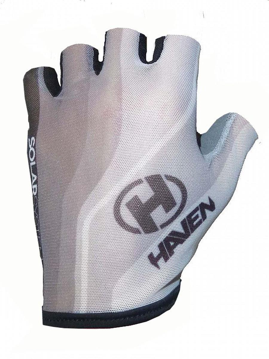 Krátkoprsté rukavice HAVEN SOLAR SHORT white