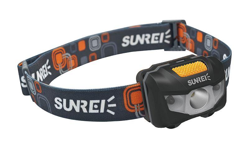 Čelovka Sunree Youdo II orange/black